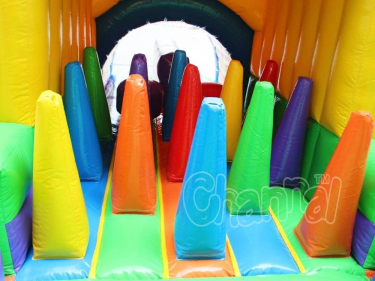 inflatable obstacle cones