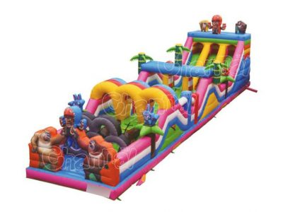 Babloo Dabloo inflatable obstacle course