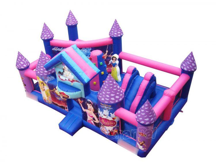 Disney Aladdin Jasmine inflatable playground