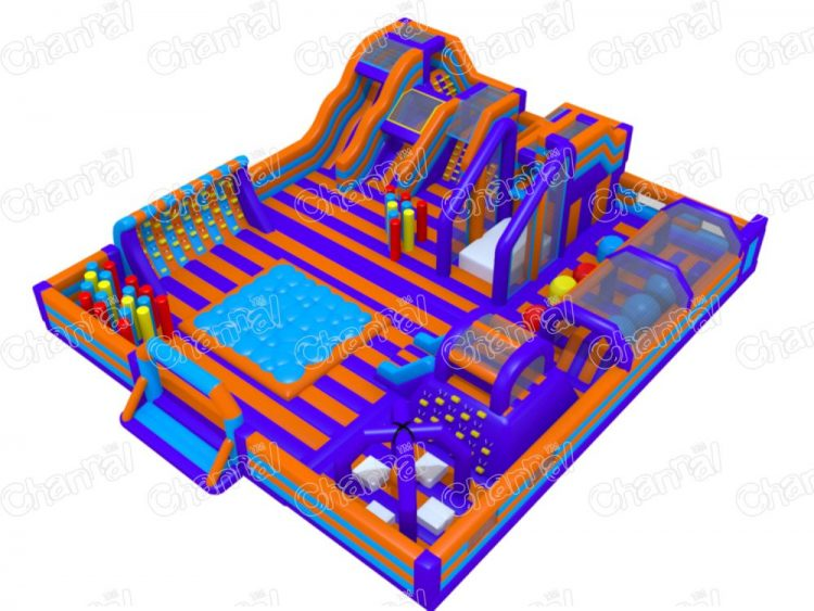 inflatable kids party place