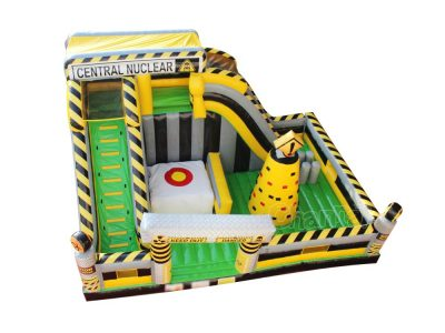 nuclear zone inflatable playground for sale