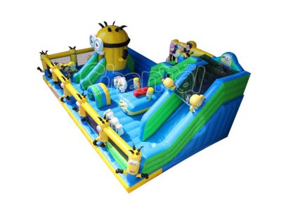 minions inflatable playground
