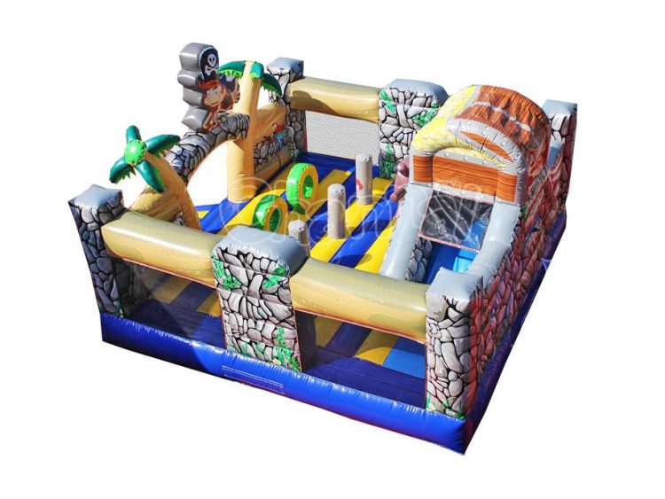 pirate inflatable playground