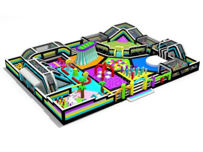 gigantic indoor playground