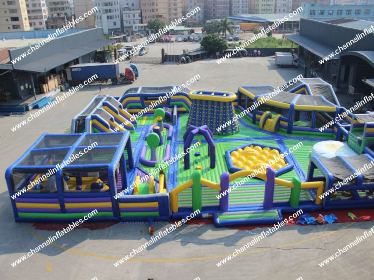 giant inflatable amusement park for sale