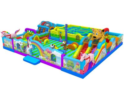 animal inflatable park