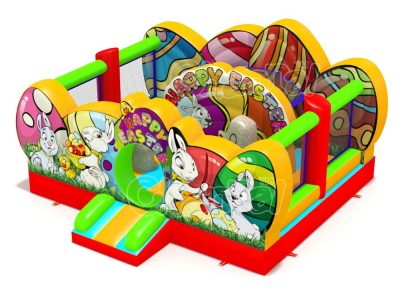 easter inflatable playground