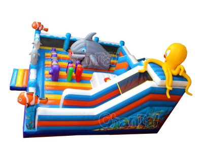 ocean inflatable playground