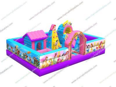 princess inflatable playground