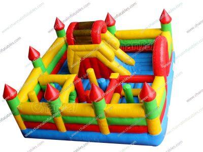 kids inflatable playground