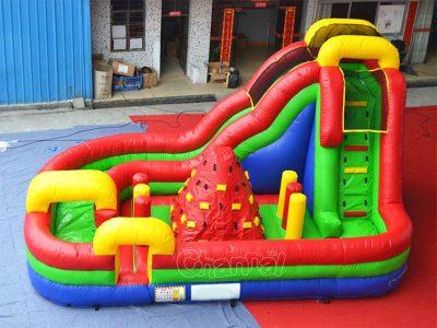 inflatable adrenaline interactive playground