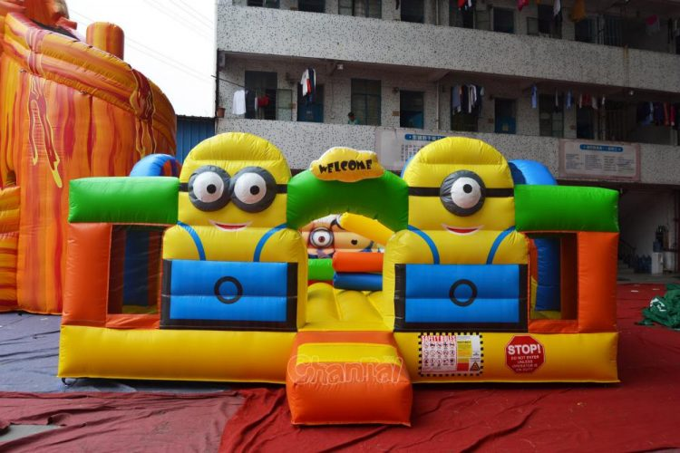 minion inflatable entrance