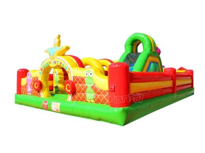 little kids inflatable amusement park playground