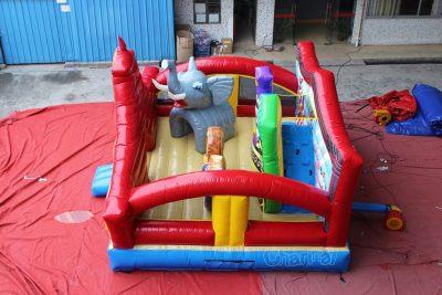 circus big top inflatable playground