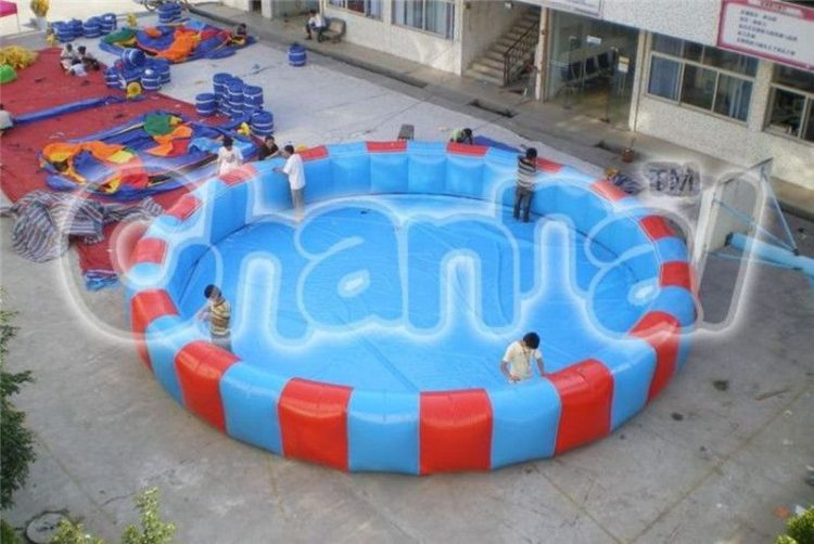 large inflatable swimming pool for adults and kids