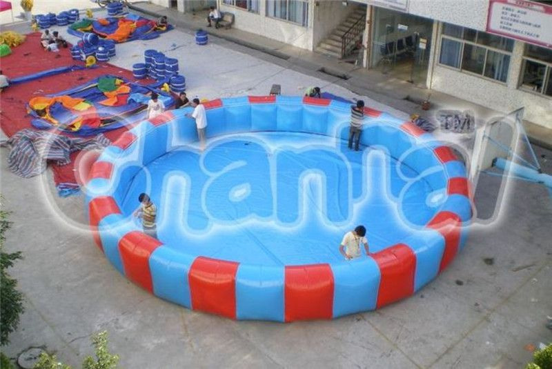 Large Round Inflatable Swimming Pool Channal Inflatables