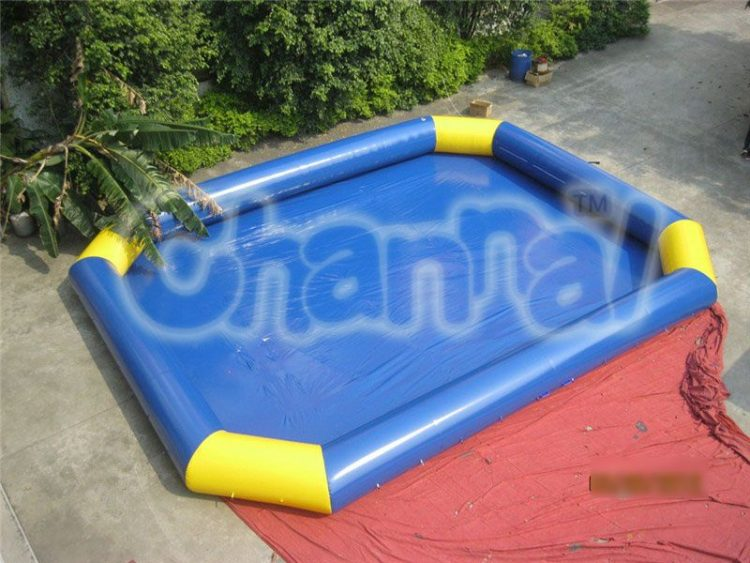 rectangle octagon inflatable pool channal inflatables - Rectangle Inflatable Pool
