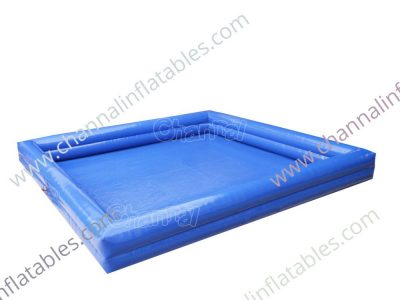 square inflatable pool