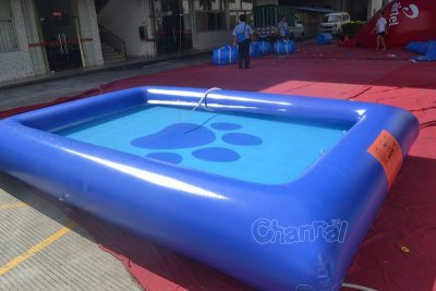 inflatable dog swimming pool