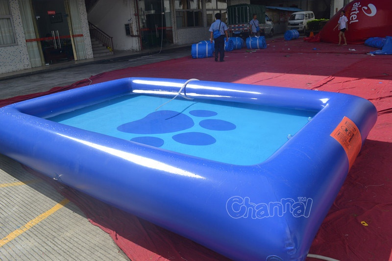 Inflatable Dog Swimming Pool Channal Inflatables