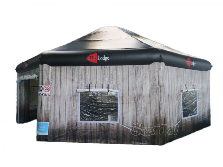large inflatable pub cabin