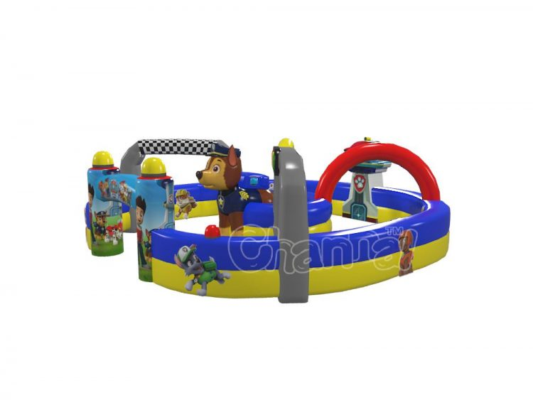 paw patrol inflatable race track for sale