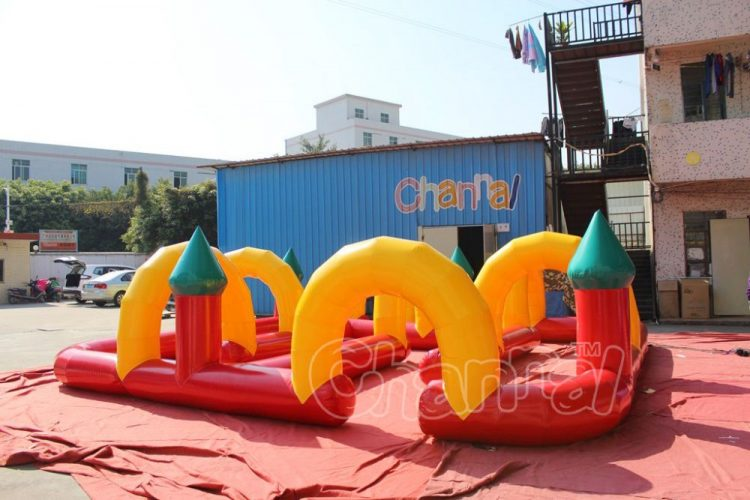 kids inflatable tricycle track