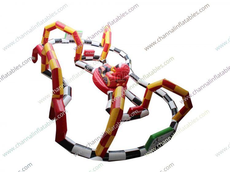 inflatable racing circuit