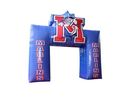 mascot marlins inflatable arch for sale