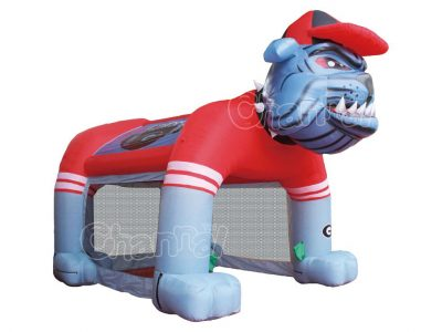 inflatable giant bulldog tent