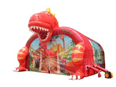 giant dinosaur inflatable party tent