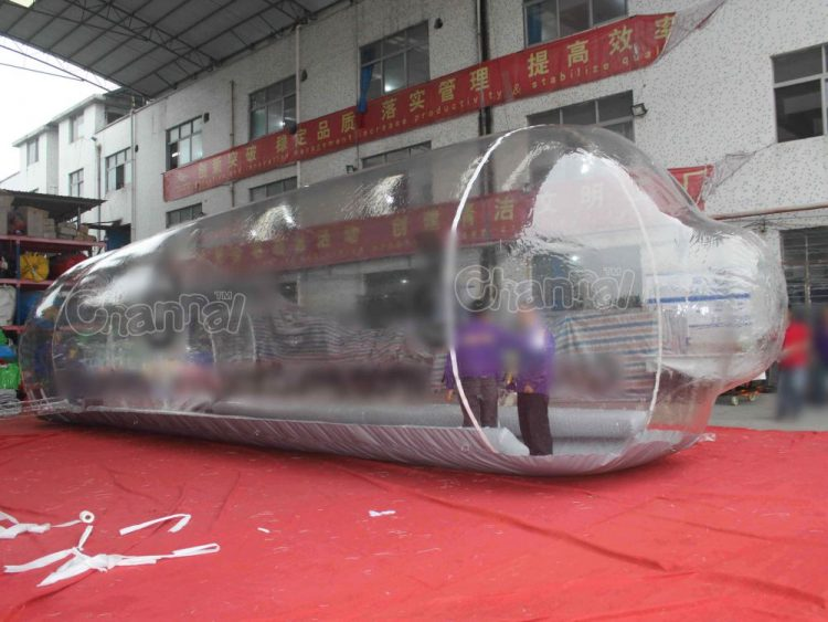 transparent tube