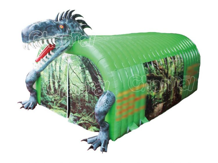t-rex inflatable tent