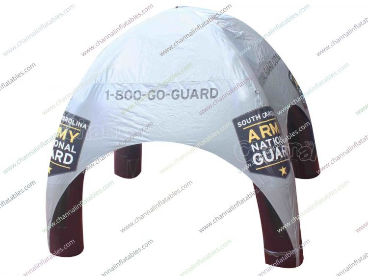 army national guard inflatable tent