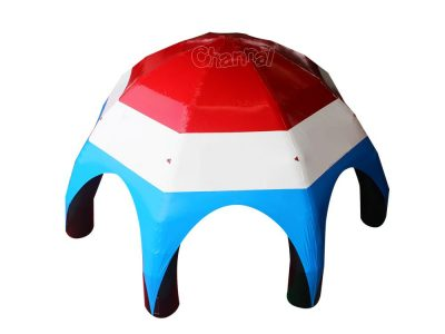 large portable inflatable spider tent for events