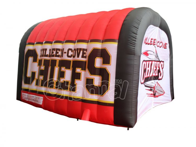 youth sports tunnel inflatable