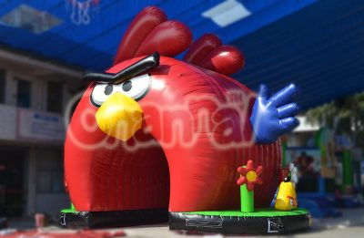 angry bird inflatable tunnel for kids event
