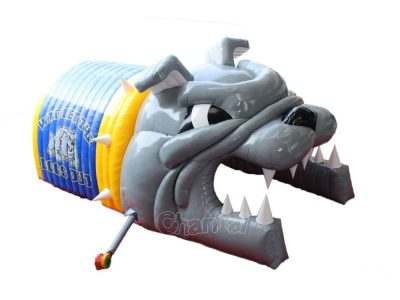 buy inflatable bulldog tunnel for football team