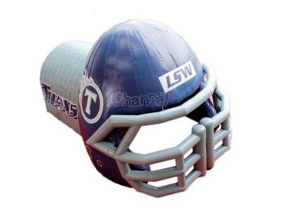 custom american football helmet tunnel for sale