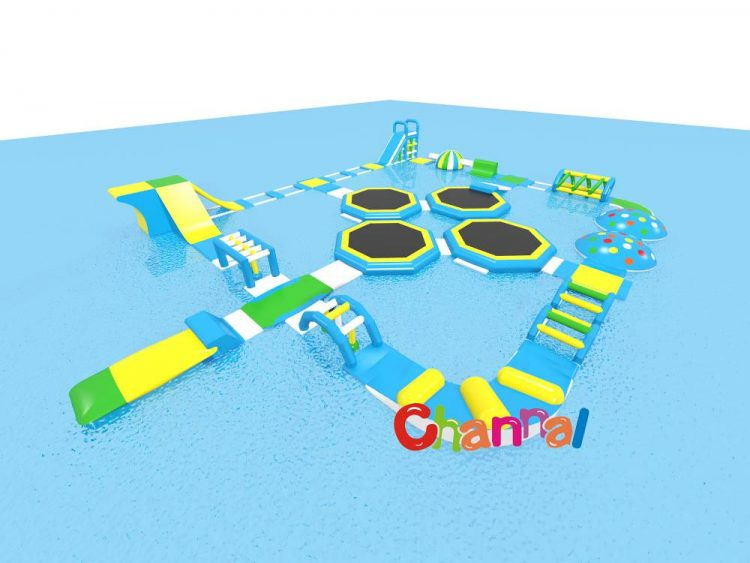 giant inflatable floating water park for sale