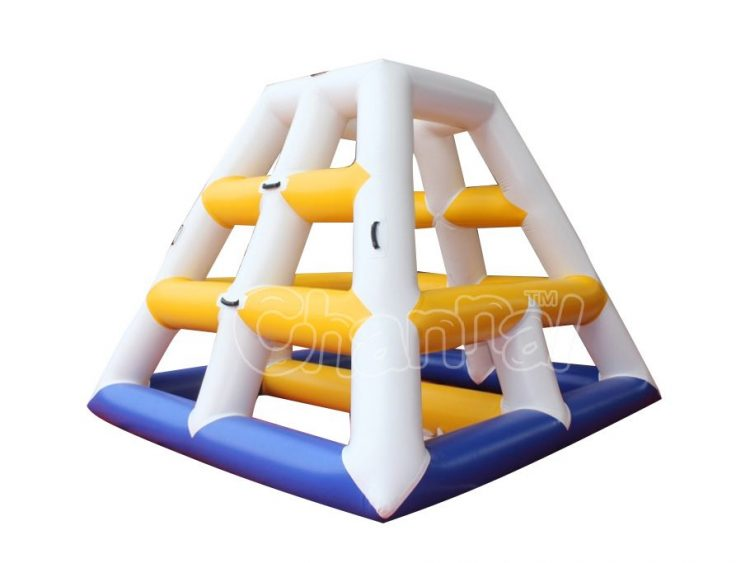inflatable water pyramid climb toy