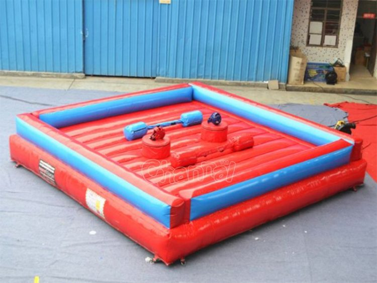 small inflatable jousting arena for kids
