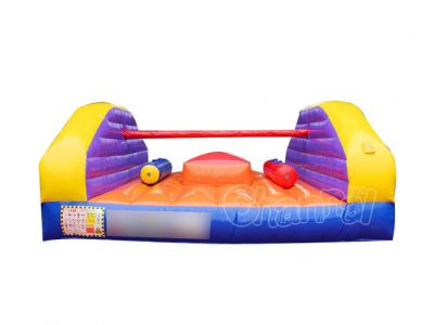 inflatable pillow fight joust game