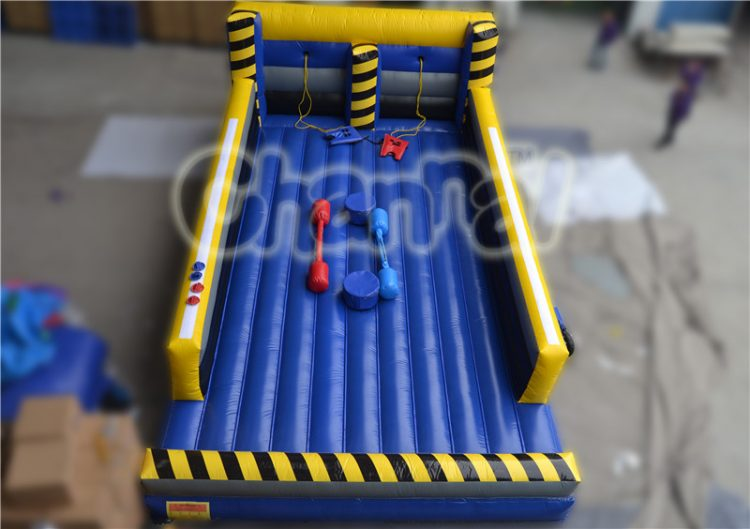 bungee run and joust combo