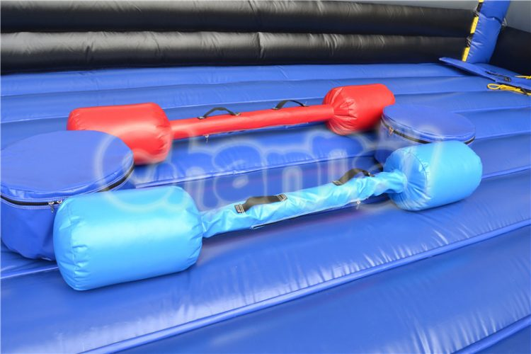 inflatable padded stick for joust