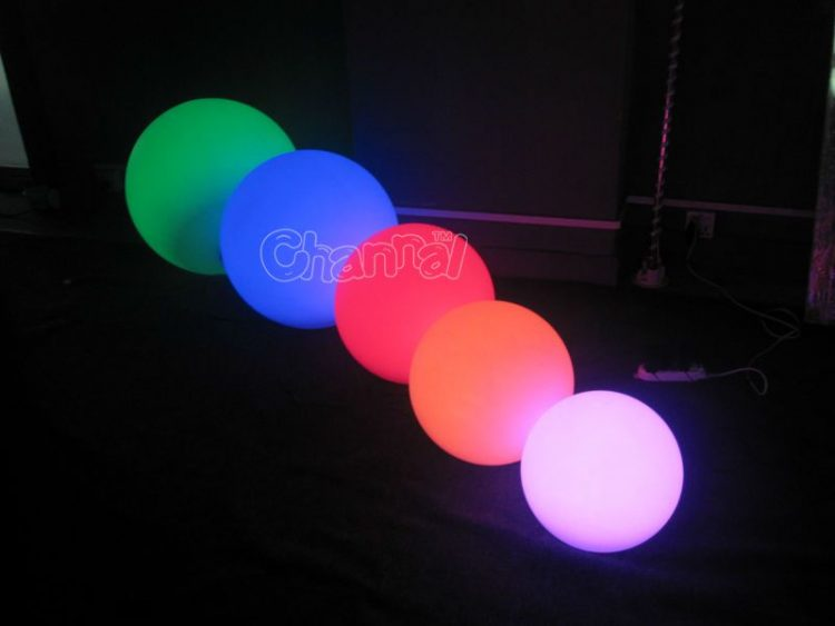 inflatable led light ball for sale