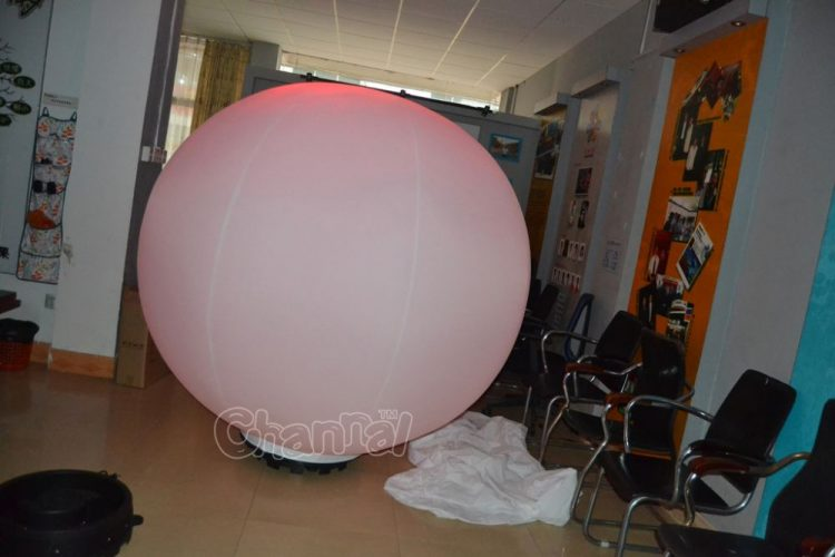 large inflatable led ball