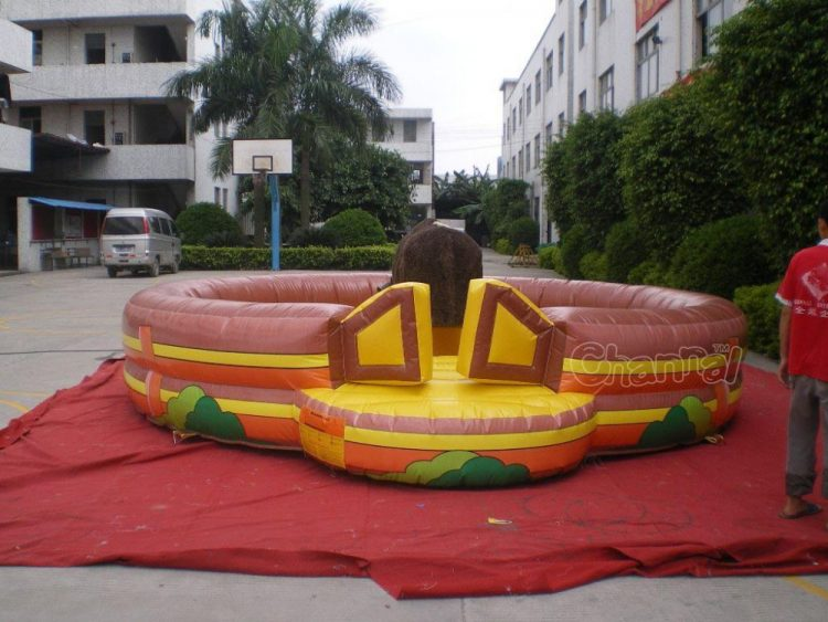 inflatable electric bull riding /electronic bull