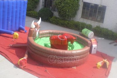 inflatable bull riding game for sale