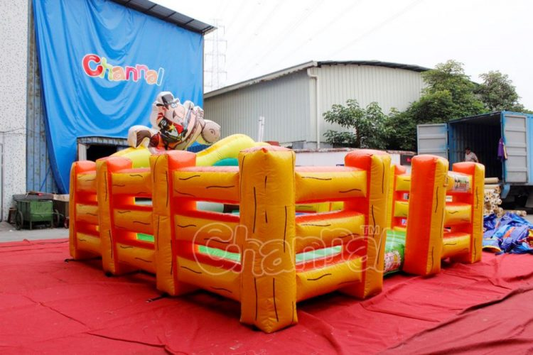 inflatable corral